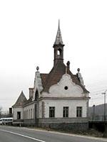 """Дворец, 19 век, ныне - санаторий  """"Карпаты """", ранее - санаторий ВЦСПС.  Довольно красивый, особенно в хорошую погоду..."""